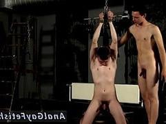 Gay men worshiping mens socks in bondage Flogged And Face Fucked