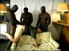 Interracial Gangbang GayNet video