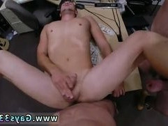 Sexy gay Guy finishes up with fucking fuck fest threesome