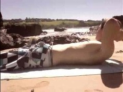 Public Beach Jerk Off