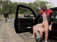 GAYWIRE - Hitchhiking Leads To Public Gay Sex (Featuring Paul Fresh & Nathan)