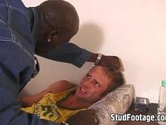 Hot interracial hardcore scene