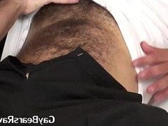 real hot and hairy gaybear pounding