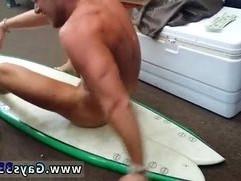 Teen boy vs man gay sex video Blonde muscle surfer boy needs cash