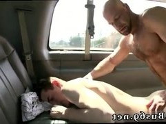 Straight young gay man bound milked first time The Big Guy On BaitBus!